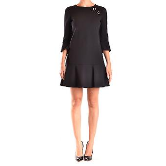 Pinko women's ACCOGLIEREZ99 black viscose dress
