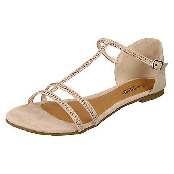 Sabana señoras sandalias de dedo del pie