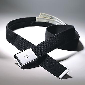 N belts to hide money. Black (Safe Belt)