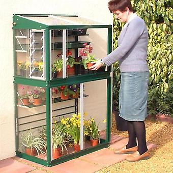 Access Garden Harewood 3ft 4inch Lean To Mini Greenhouse