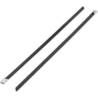 Cable tie 127 mm Black Coated KSS 1091206