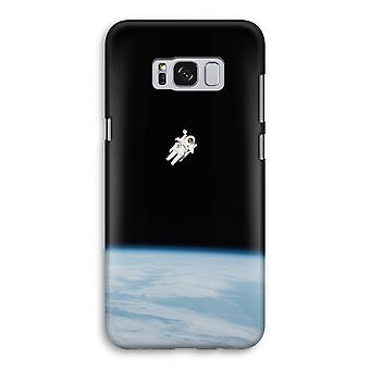 Samsung Galaxy S8 Full Print Case (Glossy) - Alone in Space