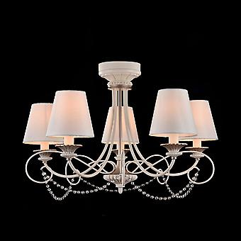 Maytoni Lighting Sonate Elegant Collection Chandelier, Cream