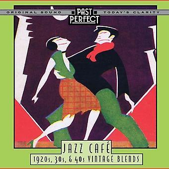 Jazz Cafe: Låtar från 1920-talet, 30s, 40-talet Vintage blandningar. Ljud-CD