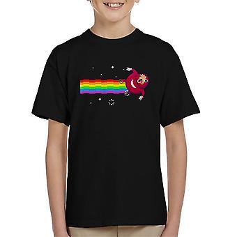 Ken jij De manier Nyan Cat Oegandese Knuckles Kid's T-Shirt
