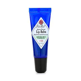 Jack Black Intense Therapy Lip Balm SPF 25 With Natural Mint & Shea Butter 7g/0.25oz