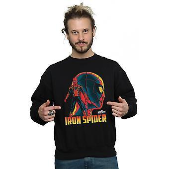 Avengers Men's Infinity War Iron Spider Character Sweatshirt