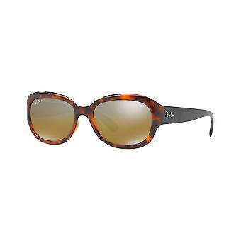 Ray - Ban RB4282CH Chromance scale red mirrored Brown polarized money