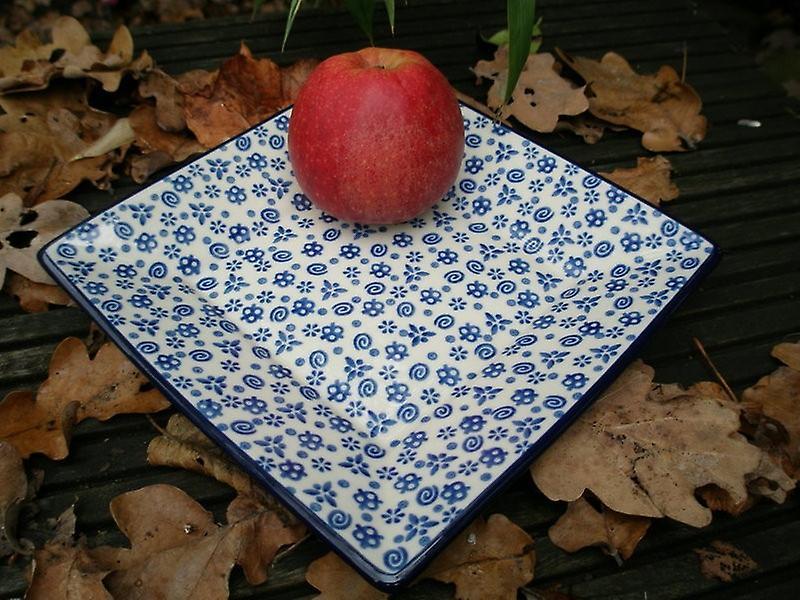 Teller   Platte 20x20 cm, Tradition 12, BSN m-076