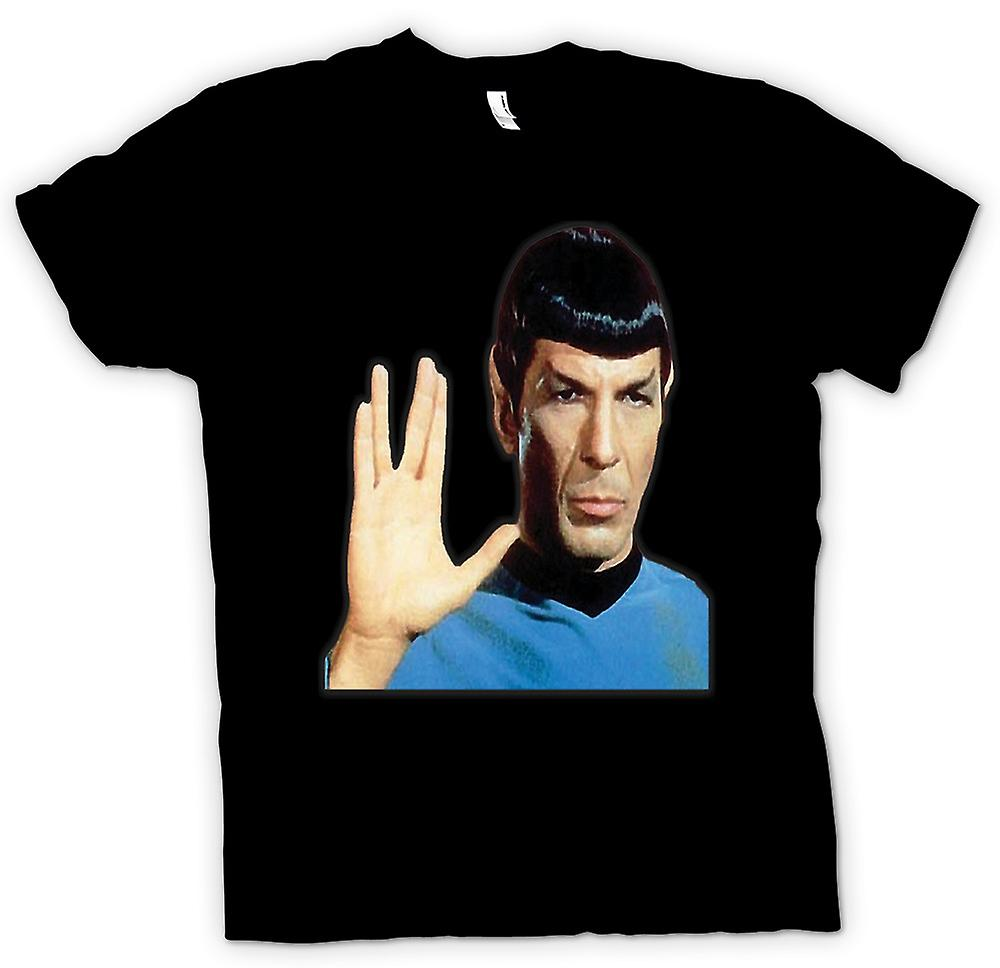 Womens T-shirt - Herr Spock - Star Trek