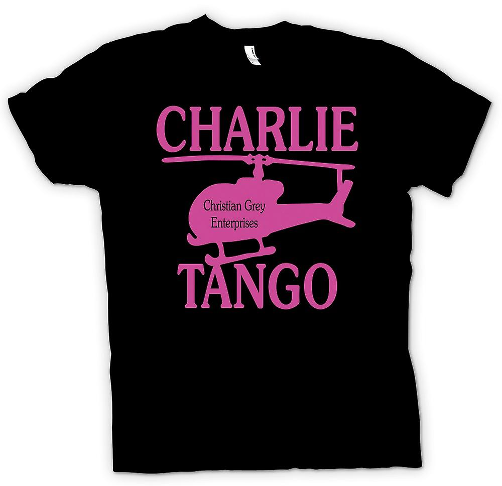 Kids T-shirt - Christian Grey Enterprises - Charlie Tango