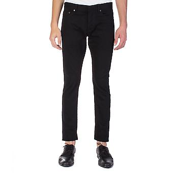 Balenciaga Men's Slim Fit Pilling Pants Black