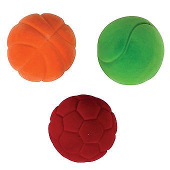Rubbabu små bolde (pakke med 3)