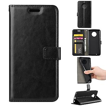 Pocket wallet premium black for Motorola Moto G6 plus protection sleeve case cover pouch new accessories