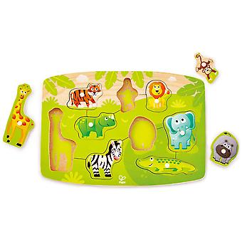 Hape Jungle Peg Puzzle