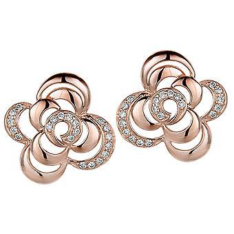 Orphelia argento 925 orecchino zirconio Rose ZO-5250/1