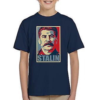 Stalin Hope Parody Kid's T-Shirt