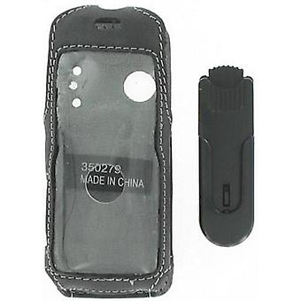 Swivel Clip Leather Case for Sony Ericsson W200a