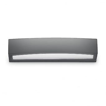 Ideal Lux Andromeda Modern Antracite Outdoor Twin Wall Light