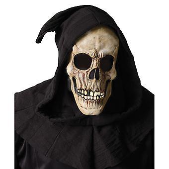 Verhüllten Skull Sensenmann Zombie Horror Kapuzen Herren Kostüm Maske