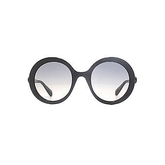 Gucci Bold Round Sunglasses In Black