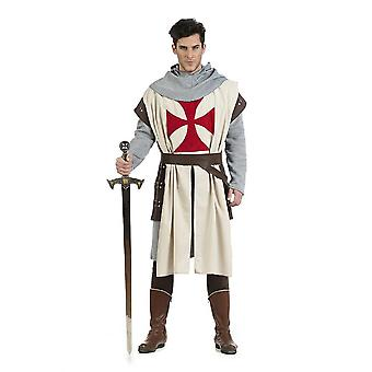 Knights of Templar men costume crusader of medieval knight men's costume
