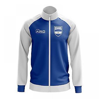Nicaragua koncept fodbold Track jakke (blå)
