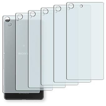 Sony Xperia M5 rear screen protector - Golebo crystal clear protection film