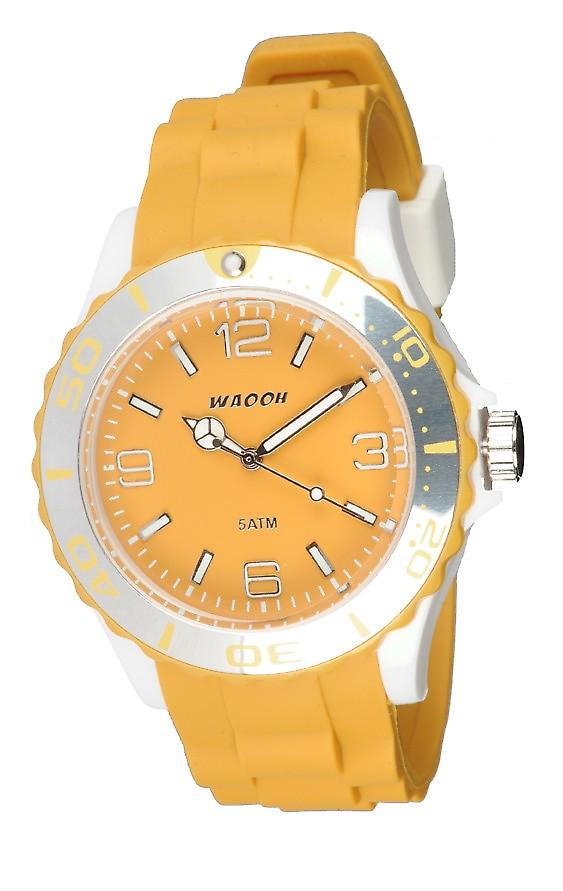 Waooh - Watch MC42 Bicolore mustard