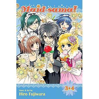 Maid-Sama! -Vol. 3 & 4 av Hiro Fujiwara - 9781421581316 bok