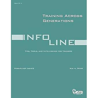 Training Across Generations by Kim A. Rowe - 9781562865313 Book
