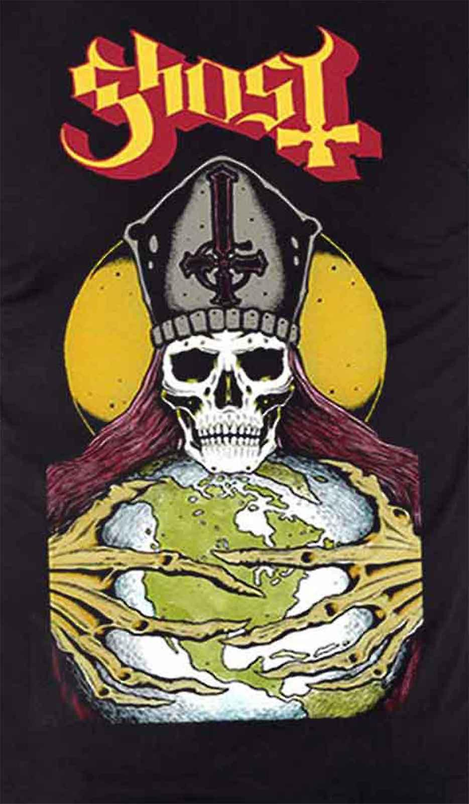 Ghost T Shirt Blood Ceremony band logo new Official Mens Black