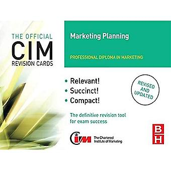 Cartões de revisão de CIM (CIM revisão cartões S) de planejamento de Marketing