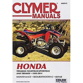Honda TRX400 EX Fourtrax/Sportrax Clymer Manual: 99-14 (Clymer Manuals)