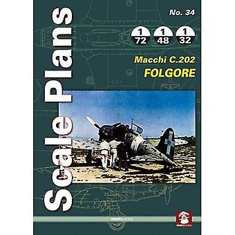 Scale Plans: Macchi C.202 Folgore No. 34