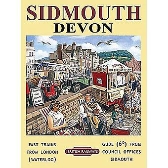 Sidmouth, Devon - Large Metal Sign 400mm x 300mm (og)