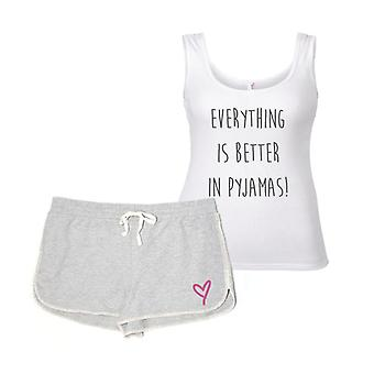 Everything Is Better In Pyjamas Pyjama Set