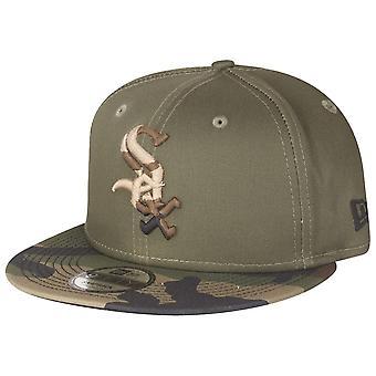 Ny æra 9Fifty Snapback Cap - Chicago White Sox træ camo