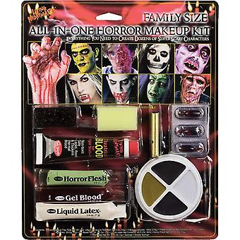 All In One Horror Make Up Kit