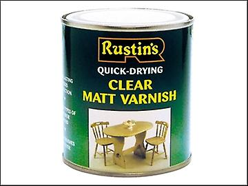 Rustins Quick Dry Varnish Matt Clear 500ml