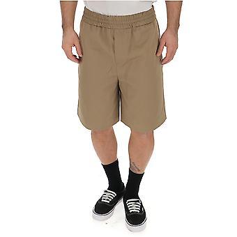 Acne Studios Beige Cotton Shorts
