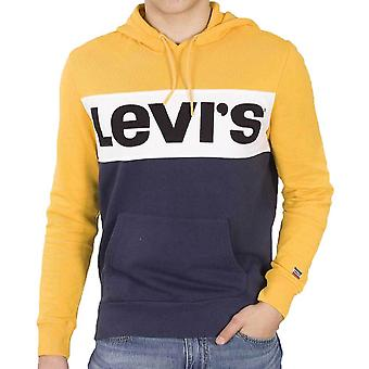 Levi's Colorblock Hoodie  Old Gold