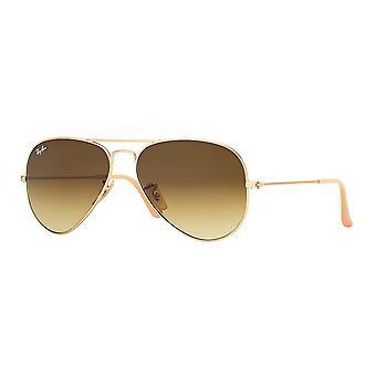 Gafas oro gradiente de Ray-Ban aviador - RB3025-112/85-55