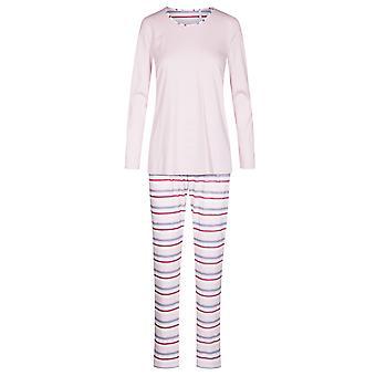 Rosch 1193652-11874 Women's Smart Casual Multicoloured Striped Cotton Pyjama Set