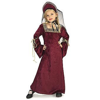 Lady of The Palace Renaissance Medieval Princess Tudor Book Week Girls Costume
