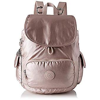 Kipling City Pack S - Women's Pink Backpacks (Metallic Rose) 32x37x18.5 cm (B x H T)