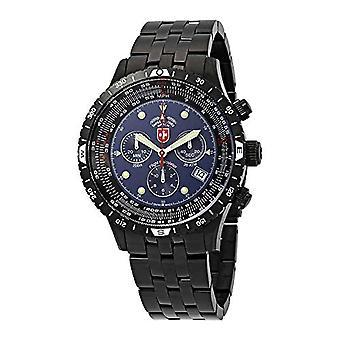 Swiss Military Clock Man Ref. 2472_blue