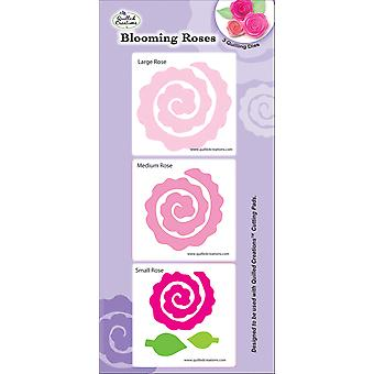 Quilling Dies Blooming Roses Q18 1