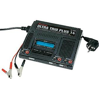 Scale model multifunction charger 12 V, 220 V 5 A Graupner NiCd, NiMH, LiPolymer, Li-ion, LiFe, Lead-acid