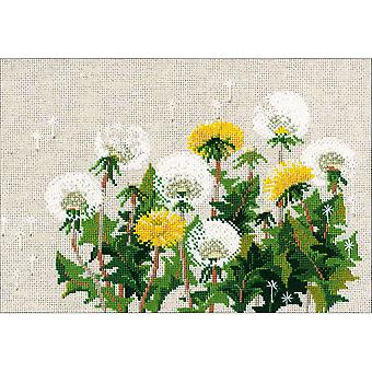 Dandelions Counted Cross Stitch Kit-11.75